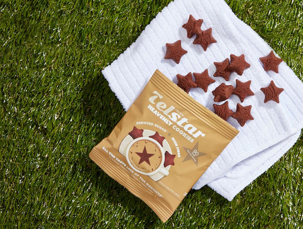Chocolate Telstar Mini Cookies