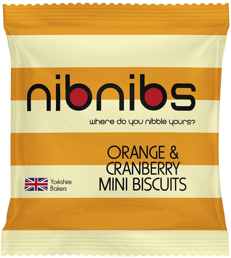Orange & Cranberry Mini Biscuits
